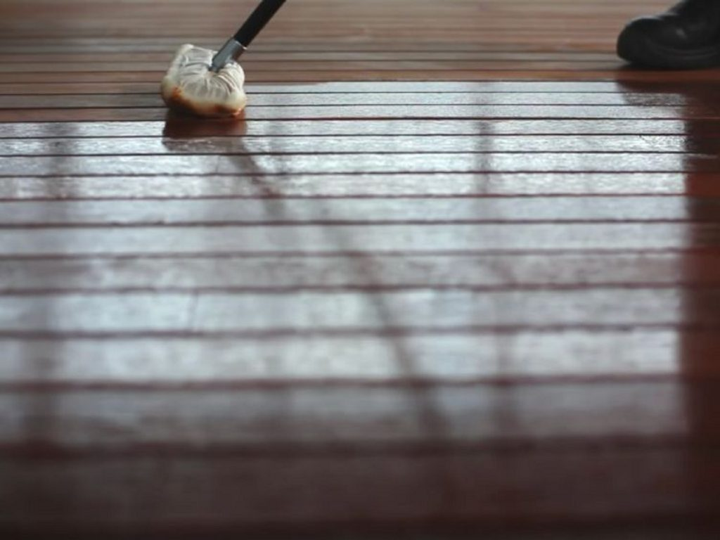 Image is of timber floors sanded by Townsville Floor Sanding