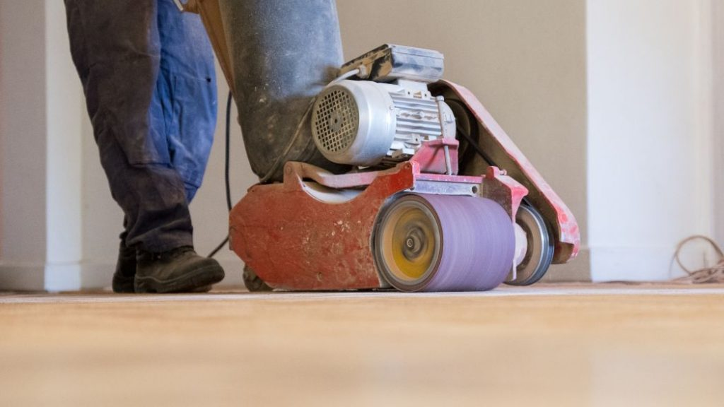 Timber Floor Repairs in Townsville being performed by our team Townsville Floor Sanding